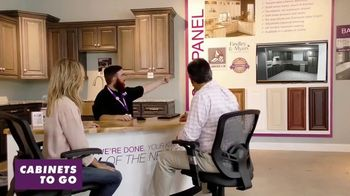 Cabinets To Go TV Spot, 'Kitchen Experts: 35 Percent Off White Cabinets'