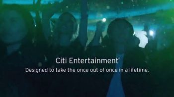 Citi Entertainment TV Spot, 'Once in a Lifetime' Song by Zara Larsson - Thumbnail 10