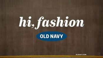 Old Navy TV Spot, 'Hi, Fashion: Spring Fashions' - Thumbnail 1