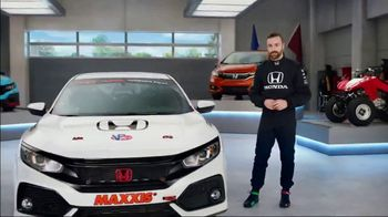 Honda Dream Garage Spring Event TV Spot, 'CR-V and HR-V' Featuring James Hinchcliffe [T2]