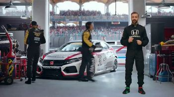 Honda Dream Garage Spring Event TV Spot, 'Racing Excitement' Featuring James Hinchcliffe [T2]