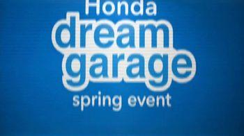 Honda Dream Garage Spring Event TV Spot, 'Accord' Featuring James Hinchcliffe [T1] - Thumbnail 2