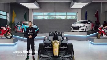 Honda Dream Garage Spring Event TV Spot, 'Accord' Featuring James Hinchcliffe [T1]