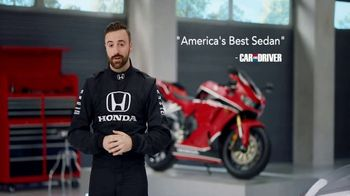 Honda Dream Garage Spring Event TV Spot, 'Accord' Featuring James Hinchcliffe [T1] - Thumbnail 7