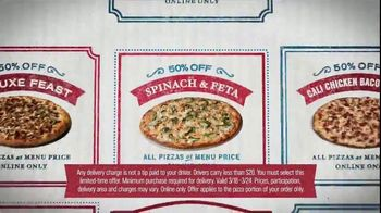 Domino's TV Spot, '34 Million Ways: 50 Percent Off' - Thumbnail 8