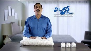 My Pillow Premium TV Spot, 'Trouble Sleeping: Save Over 50%' - 27 commercial airings