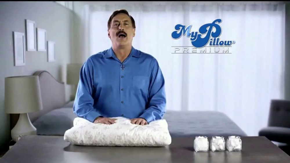 My Pillow Premium TV Commercial, 'Trouble Sleeping: Save Over 50 Percent'