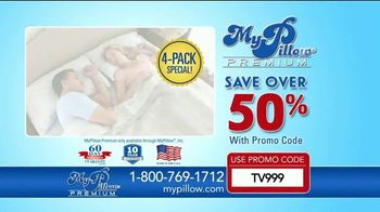 My Pillow Premium TV Spot, 'Trouble Sleeping: Save Over 50 Percent' - Thumbnail 10