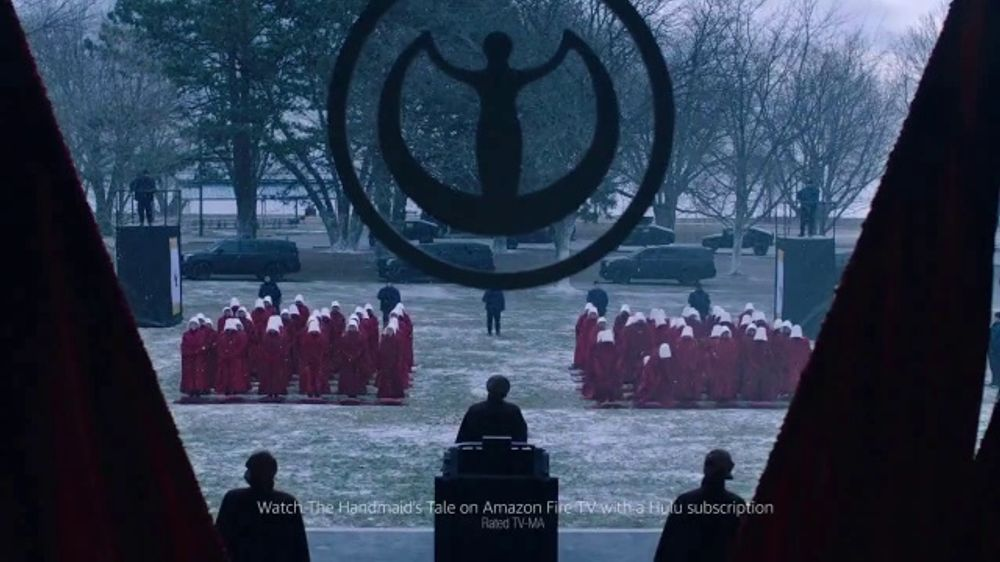 Amazon Fire TV Cube TV Commercial, 'Gift: The Handmaid's Tale' - Video