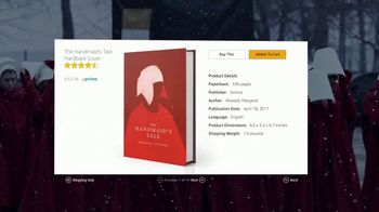 Amazon Fire TV Cube TV Spot, 'Gift: The Handmaid's Tale' - Thumbnail 6