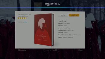 Amazon Fire TV Cube TV Spot, 'Gift: The Handmaid's Tale' - Thumbnail 7
