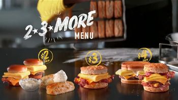 Hardee's 2 3 More Menu TV Spot, 'Math' - Thumbnail 8