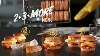 Hardee's 2 3 More Menu TV Spot, 'Math' - Thumbnail 9