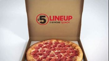 Pizza Hut $5 Lineup TV Spot, 'All the Variety. All for $5 Each.' - Thumbnail 10