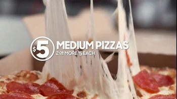 Pizza Hut $5 Lineup TV Spot, 'All the Variety. All for $5 Each.' - Thumbnail 3