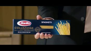Barilla Collezione Spaghetti TV Spot, 'The Party' Featuring Roger Federer, Mikaela Shiffrin, Davide Oldani - Thumbnail 5