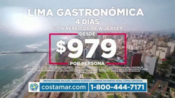 Costamar Travel TV Spot, \'Lima, Turquía y Colombia\' [Spanish]