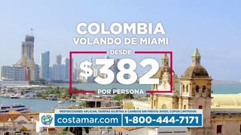 Costamar Travel TV Spot, 'Lima, Turquía y Colombia' [Spanish] - Thumbnail 3