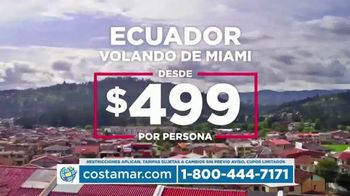 Costamar Travel TV Spot, 'Lima, Turquía y Colombia' [Spanish] - Thumbnail 4