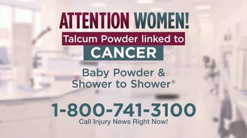 Injury News TV Spot, 'Talcum Powder Linked to Cancer' - Thumbnail 3