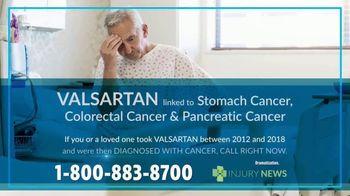 Injury News TV Spot, 'Valsartan Linked to Stomach Cancer'