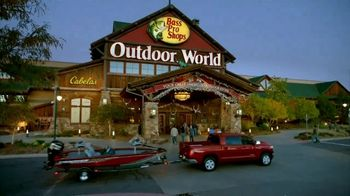 Bass Pro Shops Outdoor Escape Sale TV Spot, 'Fish Fryer and Chartplotter'