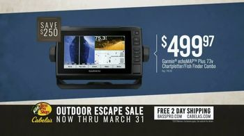 Bass Pro Shops Outdoor Escape Sale TV Spot, 'Fish Fryer and Chartplotter' - Thumbnail 4