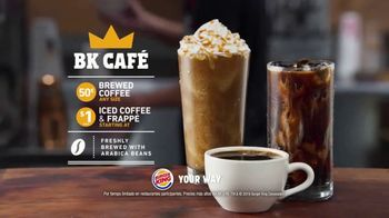 Burger King BK Café TV Spot, 'Tu manera' [Spanish] - Thumbnail 5