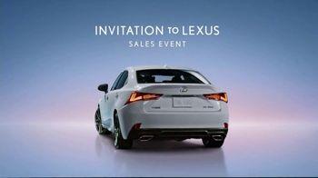 Invitation to Lexus Sales Event TV Spot, 'Exhilirating Performance' [T1] - Thumbnail 9