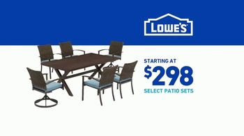 Lowe's TV Spot, 'Spring: Patio Sets' - Thumbnail 10
