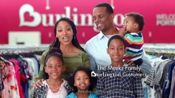 Burlington TV Spot, 'The Meeks Family Falls in Love'