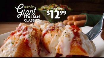 Olive Garden TV Spot, 'Giant Italian Classics: Biggest Classics Ever' [Spanish] - Thumbnail 2