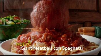 Olive Garden TV Spot, 'Giant Italian Classics: Biggest Classics Ever' [Spanish] - Thumbnail 4