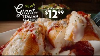Olive Garden TV Spot, 'Giant Italian Classics: Biggest Classics Ever' - Thumbnail 2
