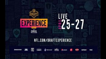 2019 NFL Draft Experience TV Spot, 'Step Into the Experience' - Thumbnail 9