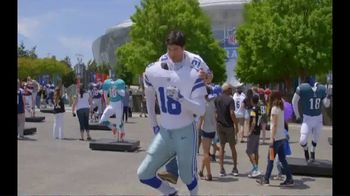 2019 NFL Draft Experience TV Spot, 'Step Into the Experience' - Thumbnail 3