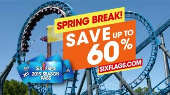 Six Flags Spring Break TV Spot, '2019 Season Pass: Go Faster' - Thumbnail 8