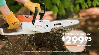 STIHL TV Spot, 'This Season: Chain Saw and Battery Blower' - Thumbnail 6