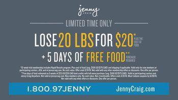 Jenny Craig Rapid Results TV Spot, 'Simple: 20 for 20' - Thumbnail 10