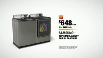 The Home Depot Spring Black Friday TV Spot, 'Samsung Laundry Pair' - Thumbnail 9