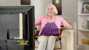 TV Free-Way Gold TV Spot, 'Top-Rated Shows'