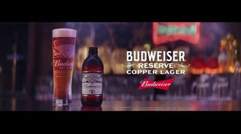 Budweiser Reserve Copper Lager TV Spot, 'The New Bud In Town' Featuring Charlize Theron - Thumbnail 6