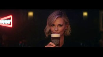 Budweiser Reserve Copper Lager TV Spot, \'The New Bud In Town\' Featuring Charlize Theron