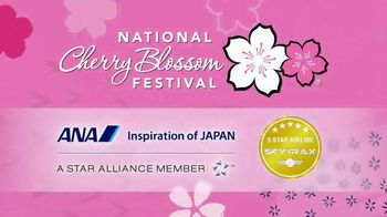 All Nippon Airways TV Spot, '2019 National Cherry Blossom Festival'