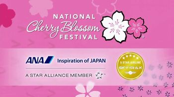 All Nippon Airways TV Spot, '2019 National Cherry Blossom Festival' - Thumbnail 1