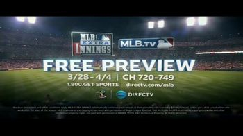 DIRECTV MLB Extra Innings TV Spot, 'Larger Than Life Moments' - Thumbnail 9