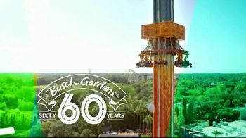Busch Gardens TV Spot, 'Celebrate 60 Years: Adventure Island Card'