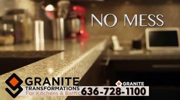 Granite Transformations TV Spot, 'No Mess, No Stress' - Thumbnail 4