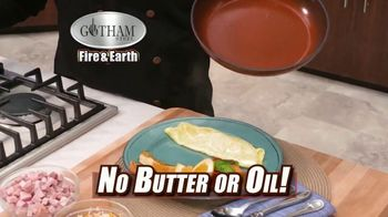 Gotham Steel Fire & Earth Pan TV Spot, 'Flame Proof' Featuring Daniel Green - Thumbnail 4