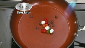 Gotham Steel Fire & Earth Pan TV Spot, 'Flame Proof' Featuring Daniel Green